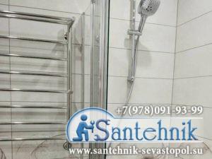 Замена полотенцесушителя Севастополь